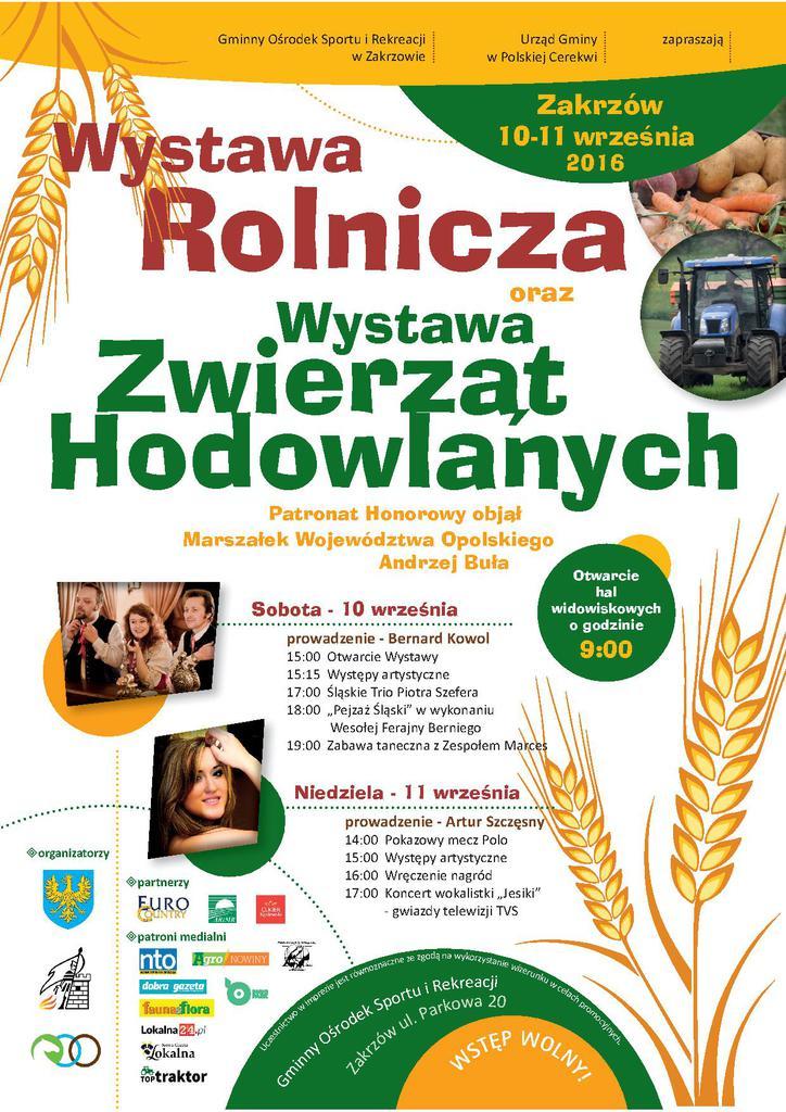 Oficjalny Plakat - Wystawa 10-11.09.2016 w Zakrzowie JPEG.jpeg