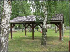 Galeria Wiata sołecka - plac zabaw Dz-ce