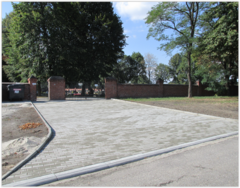 Galeria Utwardzenie wjazdu na cmentarz w Starym Koźlu