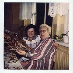 Rok 1998 od prawej; Pani Ingeborg Klein, Pani Alicja Mykitka