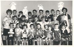 Grupa przedszkolna z roku 1968