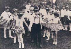 Uroczyste otwarcie przedszkola w roku 1968