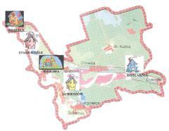 mapka położenia oddziałów